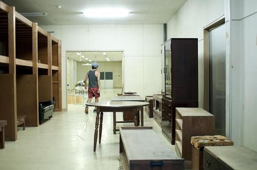 回収された家具達