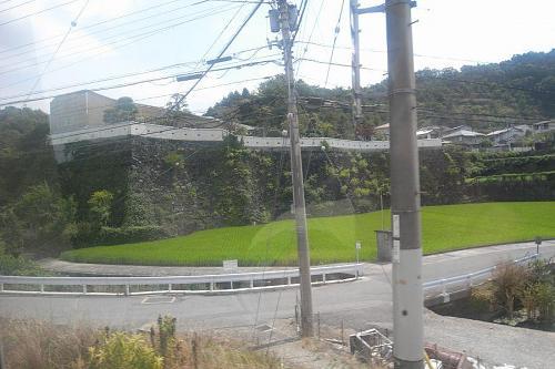 地味な趣味かもしれないけど、バスで神山に行く時に私の楽しみの一つがこの石垣