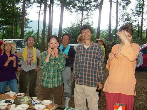 左から【原みる】様、【ドクター山田先生】、【安岐理加】様、城西高校の【仲野まこと】先生、【チャン】さん、【アンドレア】