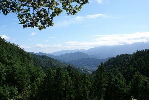 松尾部落から見た遠景