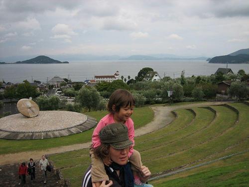 ソフィー小豆島をいく。どこに行っても主役はソフィーちゃんです