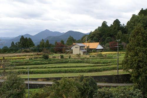 元山の田園風景