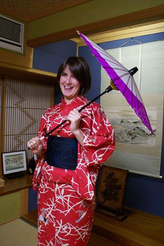 孫が日本舞踊で使ってる傘