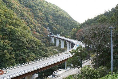 来年開通予定の養瀬トンネル