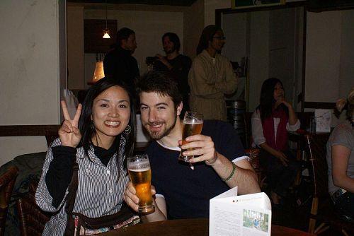 KAIRの写真家チエちゃん夫妻とも久しぶりの対面。