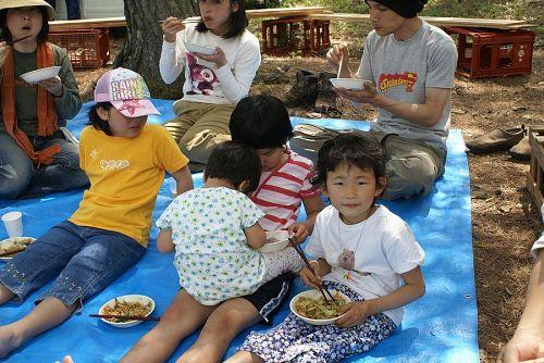 子どもたちもモリモリ食べてくれました。
