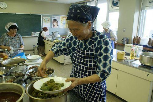 主催者の後藤貴美子さん。料理名人です。