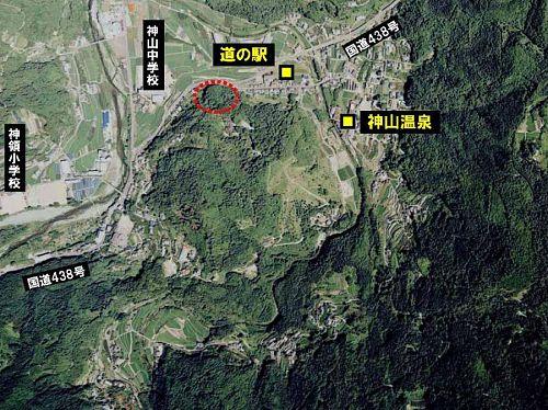 大粟山の麓に出現した森づくりの「新天地」!「道の駅」のすぐ傍で、爽やかに変化する様子を見せていきます。