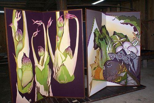酒蔵の紫野さんのお母さんの作品。