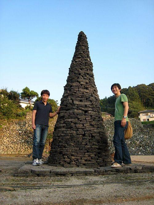 曽我さんは二度目の神山で、「西村・奈良つながり」。先月、アートトークのあったアサヒアートスクエアにも石曾根さんと駆けつけてくれた。