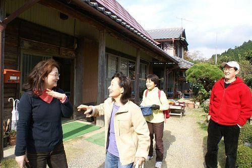 「イン神山」で見たという市内からの女性も来てくれました。