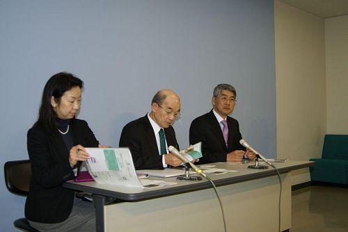 国際交流基金理事、松尾修吾氏が県庁を訪れました。