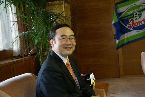 飯泉知事から受賞に対するお歓びと今後の活躍に期待の言葉を頂きました。
