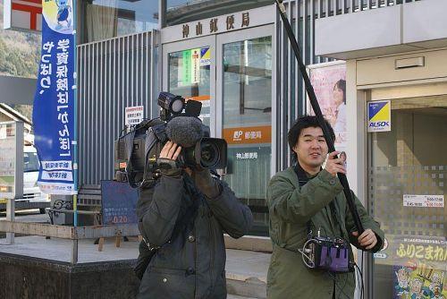 NHKの取材が入りました。