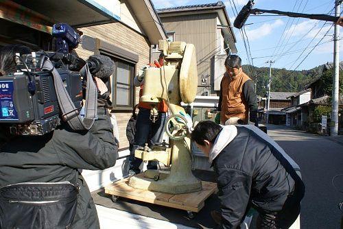 NHKの取材の逆取材をしました。