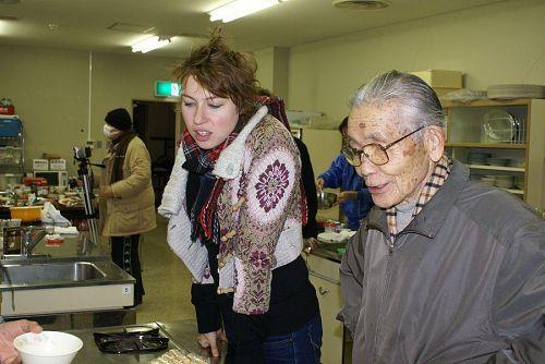 本日の参加者の中で最高齢の稲飯先生です。