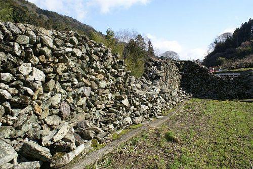 この石垣を巡るのも楽しみの一つです。