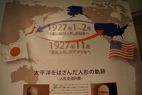 暗い戦争の時代、第二展示場ではその資料を展示しています。