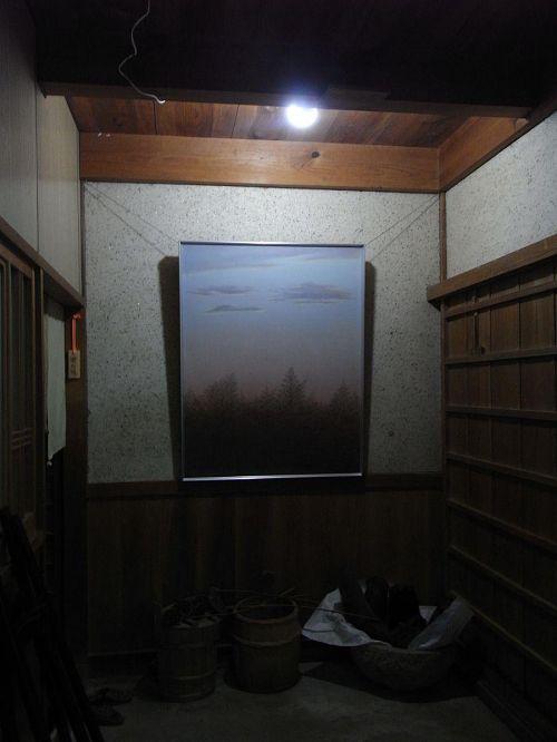 原さん宅の玄関