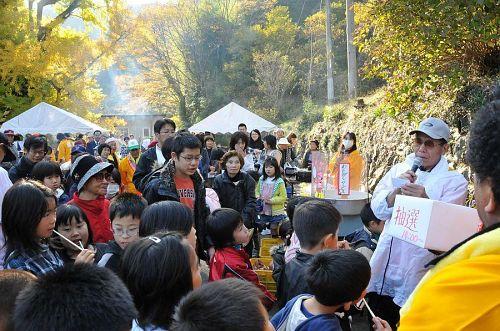 11月23日(祝)に開催される「いちょうまつり」の一コマ