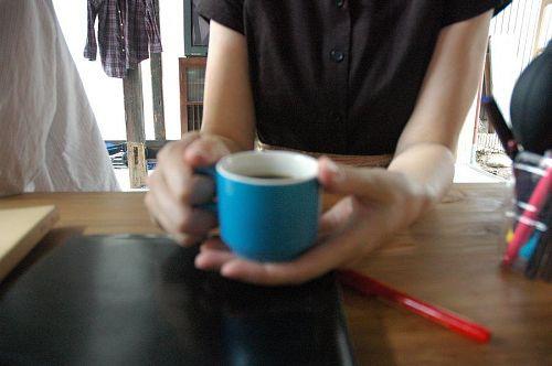 長岡さんからいただいたコーヒー