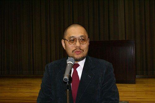 杉本会長さんの開会のご挨拶。