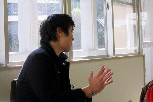 「コミュニティカフェを創る!!」という目標を持つ大林剛久さん。