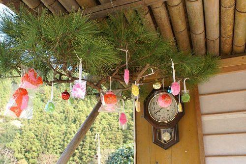 松飾。これもお正月の風物詩。