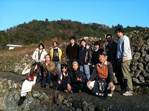 神山塾のメンバー