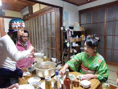 中山家の新年会
