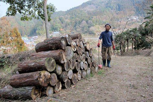 二月下旬に下分へ転居した瀧本さん。今年の夏、神山で染色業を起業します。