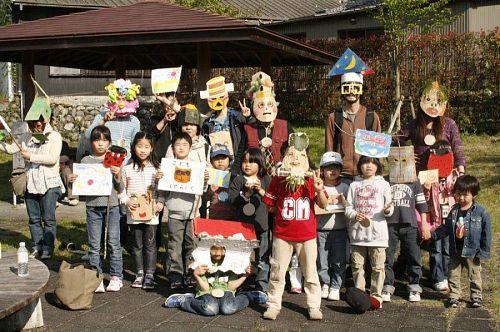 見よ!この怪しい集団。真剣に遊ぶ!が神山塾のモットー(だったのか?)