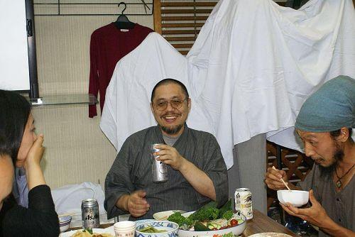 講師を務めた杉本さんもホット一息です。