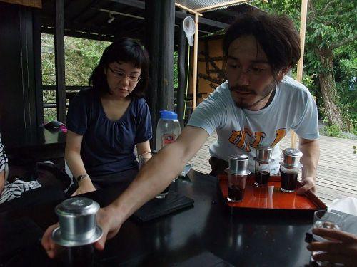ジュリアン特製ベトナムコーヒーは格別!