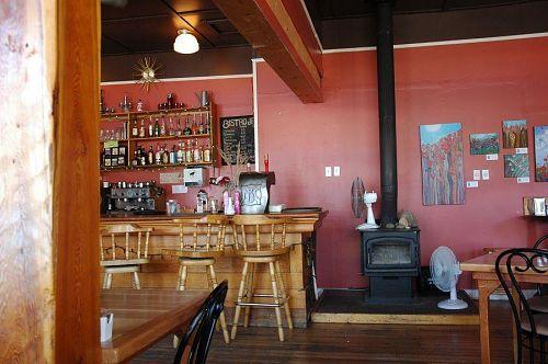 町のカフェー