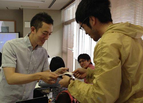 三三株式会社の寺田社長とストッパー