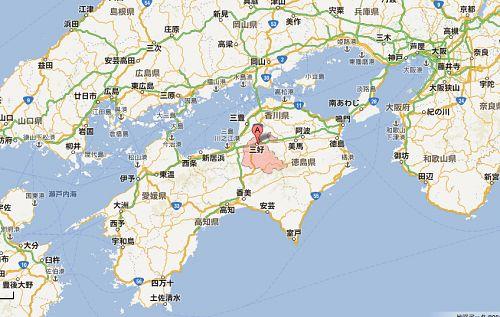 徳島県三好市は、平成18年3月、三野町、池田町、山城町、井川町、西祖谷山村、東祖谷山村が合併し、誕生しました。現在人口約13,000人。
