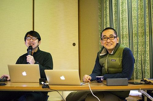 山田さんと西村さん