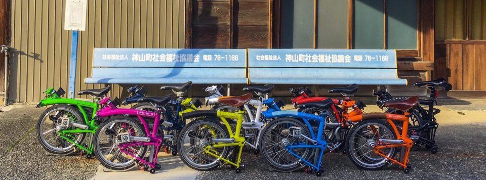 神山サイクリング cafebromptondepo カフェ