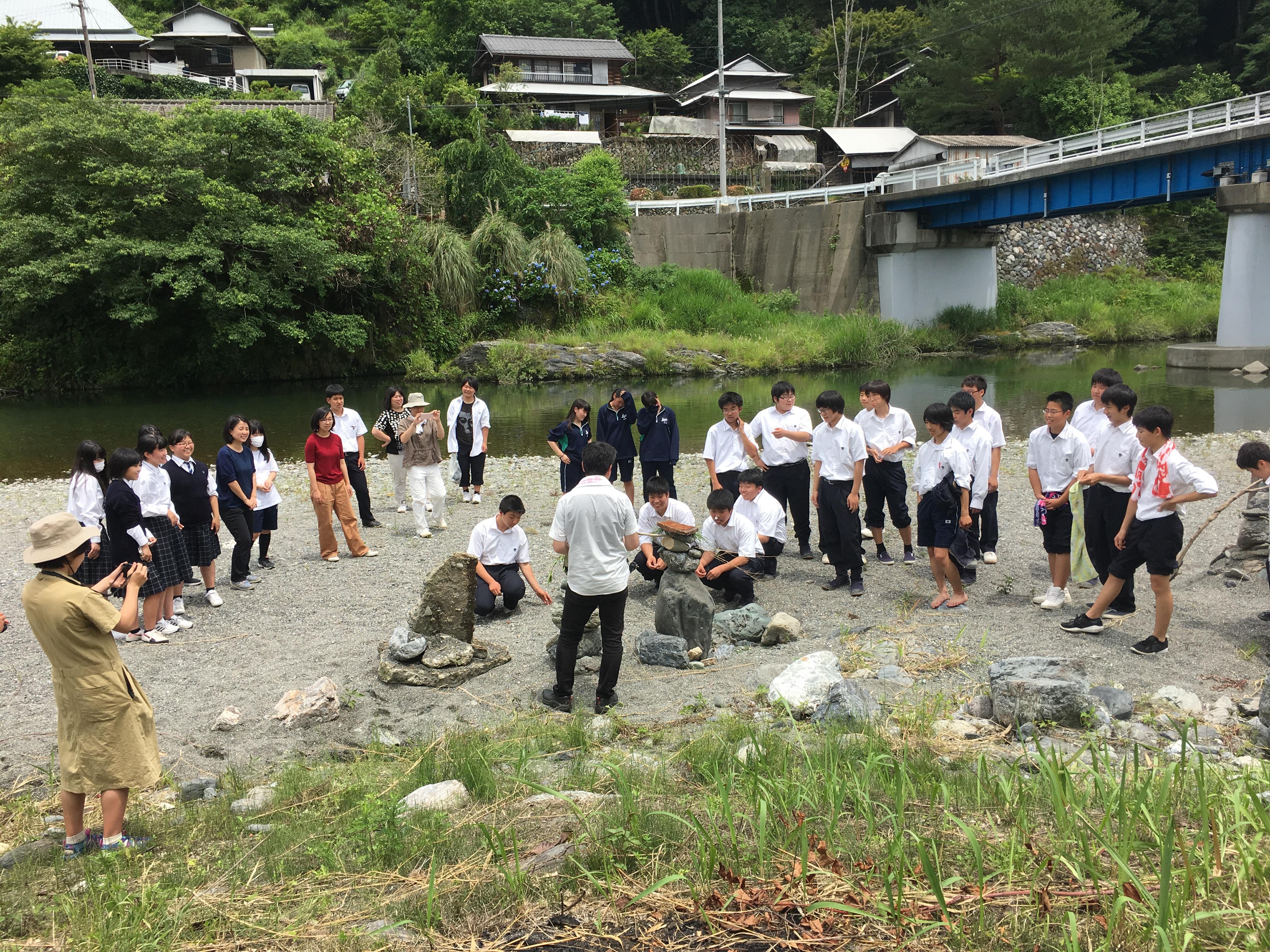 高校プロジェクト(公立 城西高校神山校)