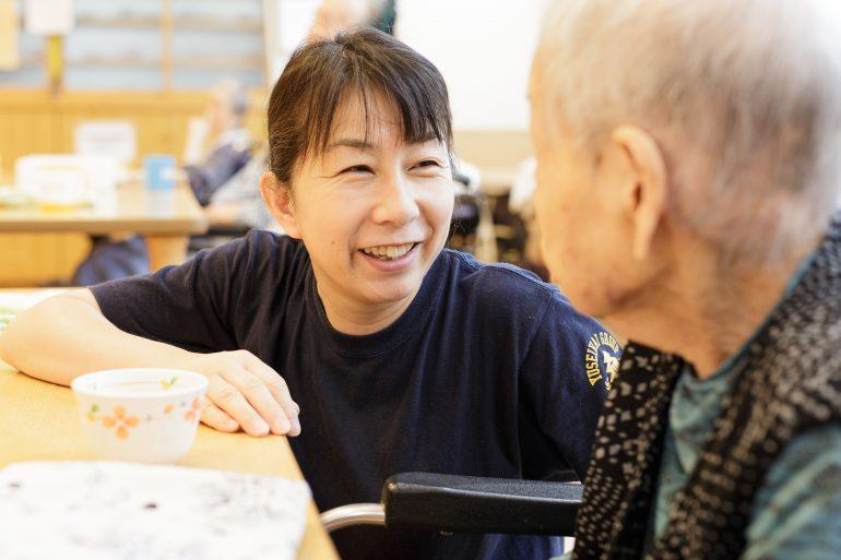 「自分たちで考え・決めて、利用者に寄り添う」神山すだち園 看護師・介護職員 募集