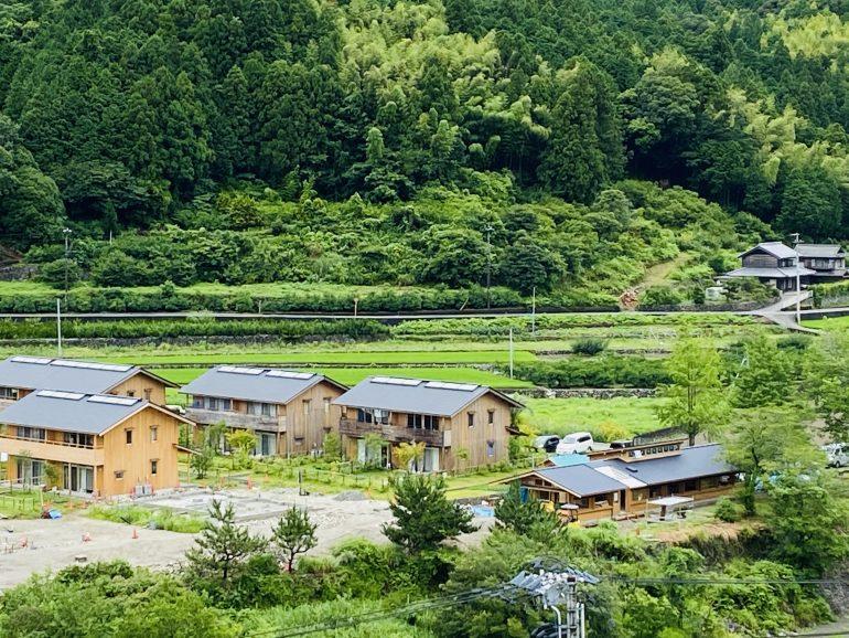 まもなく鮎喰川コモンの母屋が竣工します