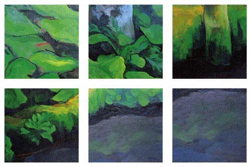 """Naoko Hayasida""""Green Flow"""" 2001"""