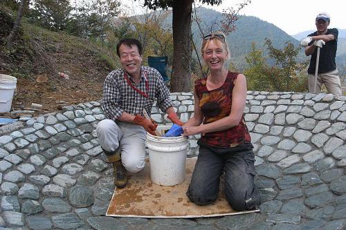 Karin and her Kamiyama father, Mr. Mori.