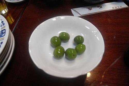 Tasty Shodoshima olives