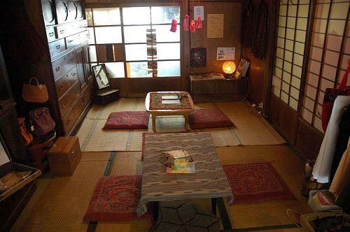 Inside Rakuraku Chaya
