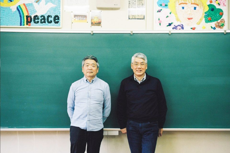 Shinya Ominami, Hideo Sato Born in Kamiyama