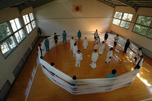 城西高校にて課外授業風景(2004)