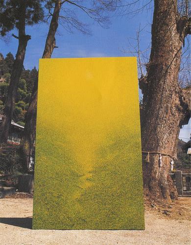"""吉澤和芳 """"光合成-Kamiyama"""" 2003"""