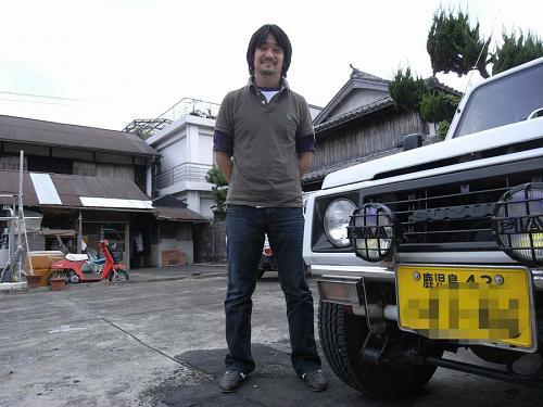田中さんと愛車ジムニー